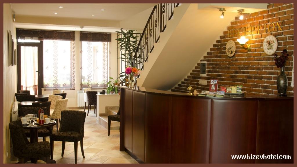 семеен хотел Бизева къща в Банско лоби бар