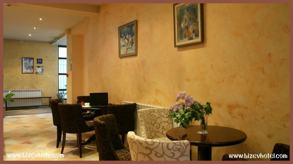 семеен хотел в Банско лоби бар