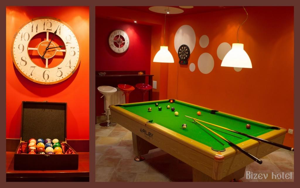 игралната зала семеен хотел в Банско